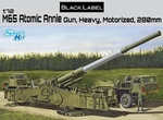 DR07484  M65 Atomic Annie 280mm Haevy Gun 1:72 kit