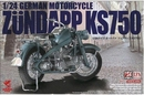 AS24006  Motorrad Zundapp KS750 1:24 kit