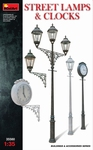 MA35560  Street Lamps & Clocks 1:35 kit