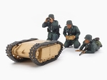 T35357  German Assault Pioneer Team & Goliath Set 1:35 kit