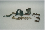 IT6087  Walls and Ruins 1:72 kit