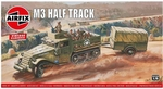 A02318  M3 Half Track & 1 Ton Trailer 1:76 kit