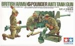 T35005  British Army 6pounder Anti-Tank Gun 1:35 kit