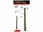 MA35570  Railway Power Poles & Lamps 1:35 kit
