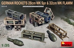 MA35316  German Rockets 28cm WK Spr & 32cm WK Flamm 1:35 kit