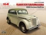 ICM35483  Opel Kadett K38 Cabriolimousine WWII German 1:35 kit