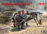 ICM35711   WWI German MG08 MG Team (2 figures) 1:35 kit