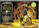 LINHL614  Jolly Roger Shining Spoils Scallywag Skeleton Pira 1:12 kit