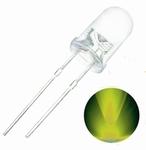 899C  LED Diode Geel/Groen Bolkop (helder) 5 mm 10 Stuks
