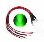 897N  LED Diode Groen Bolkop (helder) 3 mm 3 stuks
