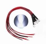 897P  LED Diode Wit Bolkop (helder) 3 mm 3 stuks