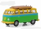 29960B  Volkswagen Samba Bus 1964 with Surfboards 1:64