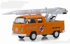 29960D  972 Volkswagen Type 2 Double Cab Pickup Ladder Truck 1:64