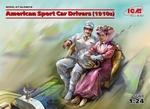 ICM24014  American Sport Car Drivers (1910s) 1:24 kit