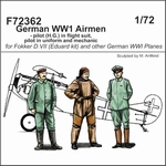 C72362  German WW1 Airmen 1:72 kit