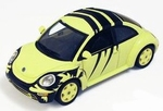 MOC007  Volkswagen New Beetle special ``Wasp Livery`` 1:43