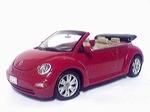 59757   Volkswagen New Beetle Cabriolet (uni rood) 1:43