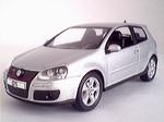 819901120  Volkswagen Golf GTI (zilver metallic) 1:43