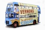 2905  Routemaster Vernon's Pools 1959 1:24