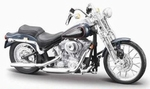 39360-24D  FXSTS Springer Softail 2001 (zwart) 1:18