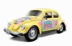 32302G  Volkswagen Kever (geel) 1:24