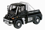 04648  Mercedes Benz Unimog U500  Black Edition 1:43