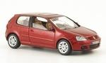 821930110  Volkswagen Golf V 3-deurs 2003 (rood metallic) 1:43