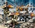 RE2599  Amerikanische Infanterie, WWII 1:76