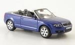 830001 AUDI A4 Cabrio (blauw) 1:43