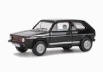 76GF002  Volkswagen Golf GTI (zwart) 1:76