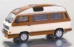 13078  Volkswagen T3b  Dehler-Profi (wit bruin) 1:43