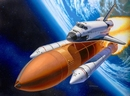RE4736  Space Shuttle Discovery & Booster Rockets 1:144 Kit