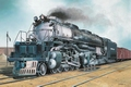 2165  Big Boy Locomotive 1:87 Kit