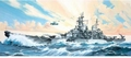 RE5092 Battleship USS MISSOURI 1:535 kit