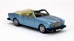 44190  Rolls-Royce Corniche Convertible 1977 blauw metallic  1:43