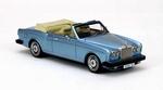44190  Rolls-Royce Corniche Convertible 1977 blauw metallic 1:43