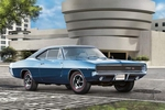 7188 1968 Dodge Charger (2in1)  1:25 Kit