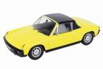 03730  Porsche 914  geel 1:43