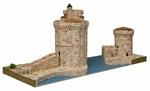 AE1267  La Rochelle harbour Towers 1:220 Kit