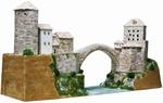 AE1204  Mostar bridge 1:130 kit