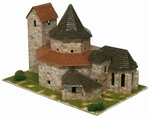 AE1111  Ottmarsheim Abbey 1:130 kit