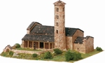 AE1108  Santa Coloma church 1:150 Kit