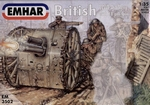 EM3502  WWI British Artillery with 18 Pdr Gun Emhar 3502 1:35 kit