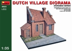 MA36023  Dutch Village Diorama 1:35 kit
