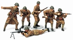 T35288  French Infantry WWII Set # 1:35 kit