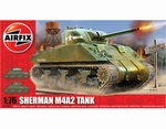 A01303  Sherman M4A2 Tank 1:76 kit