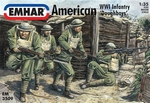 EM3509  American WWI Infantry 'Doughboys' 1:35 kit