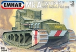 EM5004  Mk A Whippet WWI Medium Tank 1:72 kit