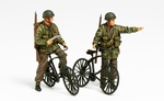 T35333   British Paratroopers Set - w/Bicycles 1:35