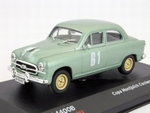 1285  Seat 1400B #61 Copa Montjuich Coches Sport 1957 1:43